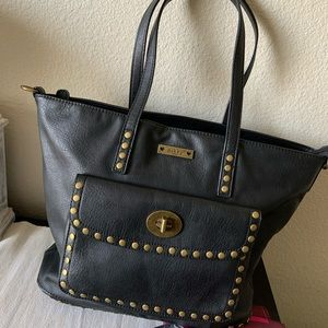 Studded Insulated Tote Bag